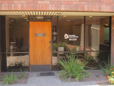 Peck Family Dentistry front door
